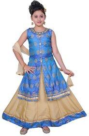 Saarah Multicolored Lehenga Choli Set for girls