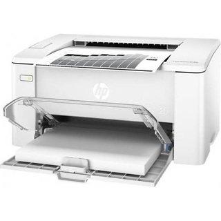 HP M104a Mono Laser Printer with Cartridge Single Function Printer  (White, Toner Cartridge)