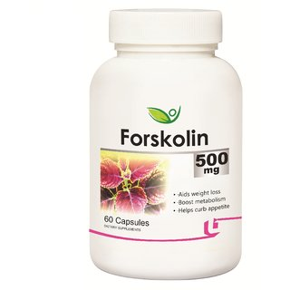 Biotrex Forskolin - 500mg Reduce weight and be slim (60 Capsules)