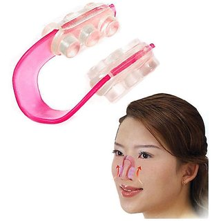 Nose Up Shaping Shaper Lifting Bridge Straightening Beauty Silica Nose Clip