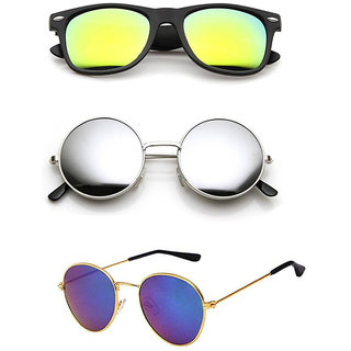 Combo Of Lee Topper Assorted Glass Color Stylish Trendy WFR S.G.
