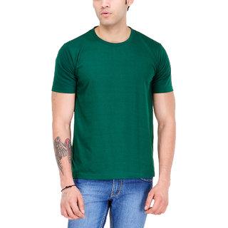 Scott International Men'S Green Round Neck T-Shirt