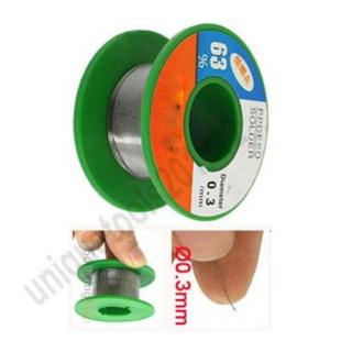 0.3mm Diameter Tin Lead Flux Core Soldering Solder Wire