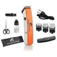 Naughty Bear Orange Cordless Rechargeable Hair Trimmer Razor Shaving Machine NB-216B