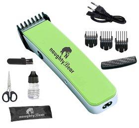 Naughty Bear Green Cordless Rechargeable Hair Trimmer Razor Shaving Machine NB-216B