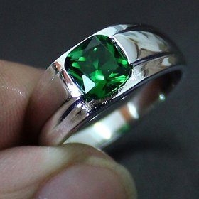 Emerald Ring Stone Panna 6.25 Ratti RING Natural Stone Jaipur Gemstone