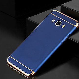 3 in 1 Electroplated Bumper Hard Back Cover Case FOR SAMSUNG GALAXY J7 Max  ON Max