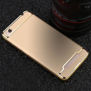 BT 3 In 1 Luxury Ultra-thin Slim Hard Shockproof Back Case Cover For Redmi 5A