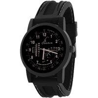Jack Klein Fully Black High Quality Wrist Watch For Men