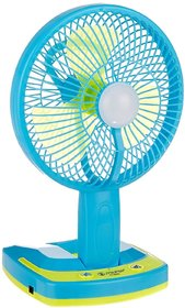 JY super 5590 Powerful Rechargeable Fan with 21SMD LED lights, assorted