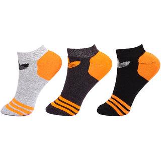 Adidas Originals Unisex Ankle Socks - 3 Pair Pack