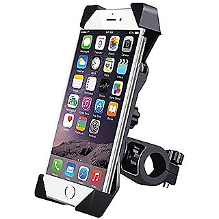 Autonext Universal 360 Degree Rotating Mobile Phone Mount Stand For Bikes (Black)
