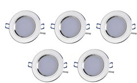 NIPSER 7 Watt LED Concealed Light(Pack of 5)