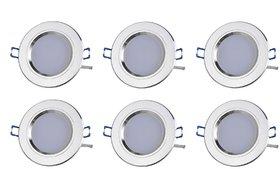 NIPSER 7 Watt LED Concealed Light(Pack of 6)
