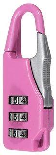 Long 3 Digit Re-settable Code Number Combination Lock Suitcase Bag Padlocks Random Colours