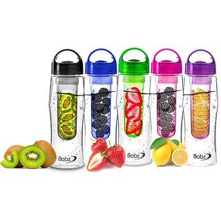 BANQLYN 1pcs Fruit infuser water bottle