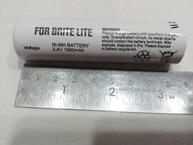 RECHARGEABLE BATTERY 3.6v -1500MA (WORK IN BRITELITE LED LIGHT TORCHES)small