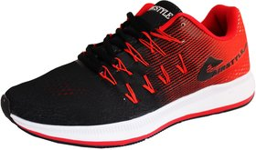Max Air Training Shoes Black Red 8852