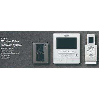 PANASONIC VIDEO DOOR PHONE WITH WIRELESS CONTROL INTERCOM VL-SW251 (FREE INSTALLTION SERVICE FOR DELHI USERS)