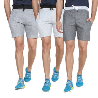 Swaggy  Sports Shorts For Men( Combo of 3 )