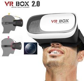 VR Box Virtual Reality 3D Glasses Cardboard Movie Game - 136790202