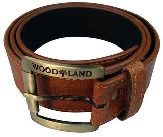 Woodland Men Casual Brown Belt