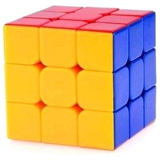 Toy Vala Stickerless Cube Magic Cube Speed Cube (3#,Multicolor)