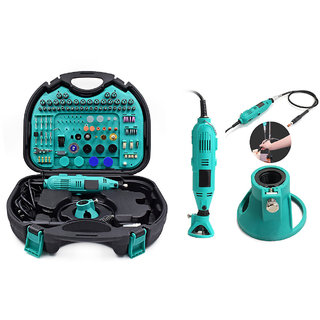 252 Pcs Electric Rotary Die Grinder Tool kit With Flexible Shaft Rotary Tool (3 mm)