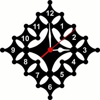 Balajii Times Wall Clock Taash