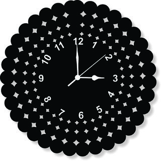 BALAJII TIMES WALL CLOCK CLOCK047