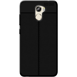 Cellmate Antigrip Flexible Back Cover For Gionee X1 - Black