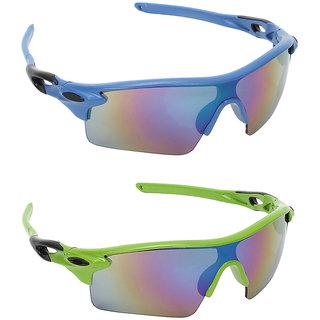 caf418d60a Buy Zyaden Combo of 2 Sport Sunglasses - Pack of 2 Online - Get 76% Off