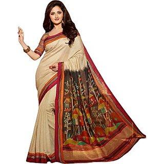 svb sarees bhagalpuri silk saree