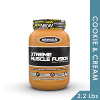 Big Muscles Xtreme Muscle Fusion 2.2 Lb (Cookie & Cream