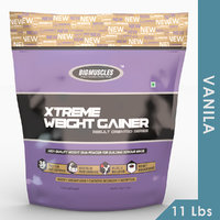 Big Muscles Xtreme Weight Gainer 11 Lb (Vanilla)