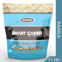Big Muscles Smart Gainer 11 Lb (Vanilla)