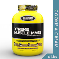 Big Muscles Xtreme Muscle Mass 6 Lb (Cookie & Cream)