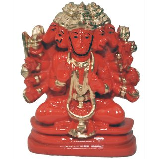 only4you resin panchmukhi Hanuman idol