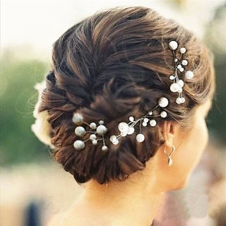 6 Pcs Bridal Hair Pins Set