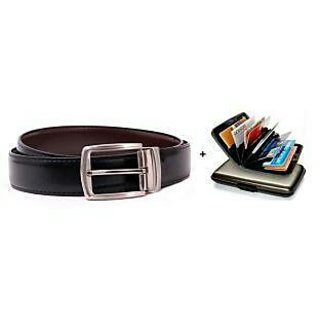 Mens Belt Aluma wallet