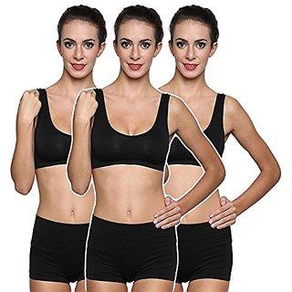 44dcacdb1f0a2 Buy GRAPPLE DEALS Women s Multicolor Plain Nylon Push-up Bra Online ...