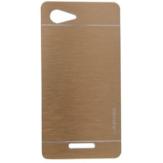 Motomo Back Cover for Sony Xperia E3 - Golden