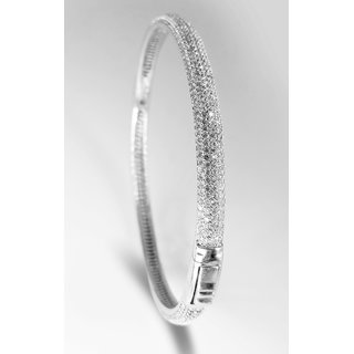 Ladies Bracelet Diamond - Avj Silver Jewellery - Sterling Silver