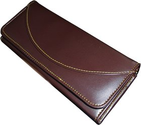 SN LOUIS BROWN WOMEN WALLET 097