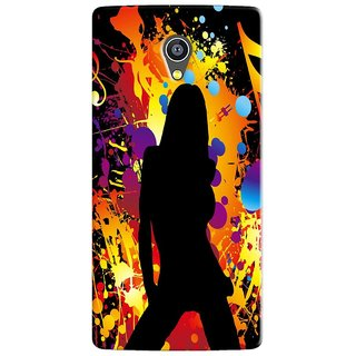 PREMIUM STUFF PRINTED BACK CASE COVER FOR SWIPE KONNECT PLUS DESIGN 5965