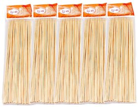 Ezee Bamboo Satay  Stick  Skewers  Barbecue Sticks  6 Inches 5 Packets 400 Pieces