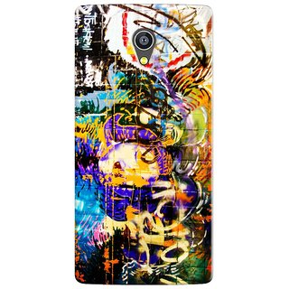 PREMIUM STUFF PRINTED BACK CASE COVER FOR MICROMAX YU 5530 YUNICORN DESIGN 5580