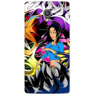 PREMIUM STUFF PRINTED BACK CASE COVER FOR MICROMAX YU 5530 YUNICORN DESIGN 5595