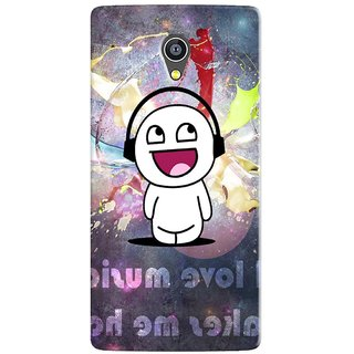 PREMIUM STUFF PRINTED BACK CASE COVER FOR MICROMAX YU 5530 YUNICORN DESIGN 5674