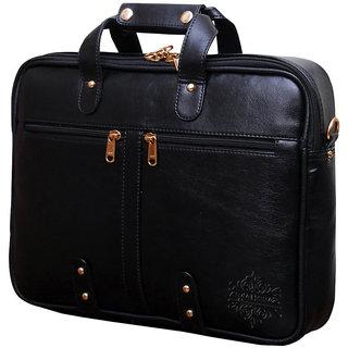 Style Homez Premium Leatherette Executive Laptop Briefcase Bag 15.6